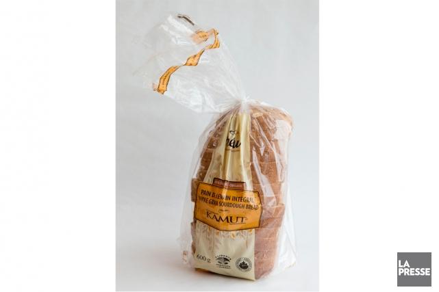 Le pain au kamut d'Inéwa est fait avec... (Photo Alain Roberge, La Presse)