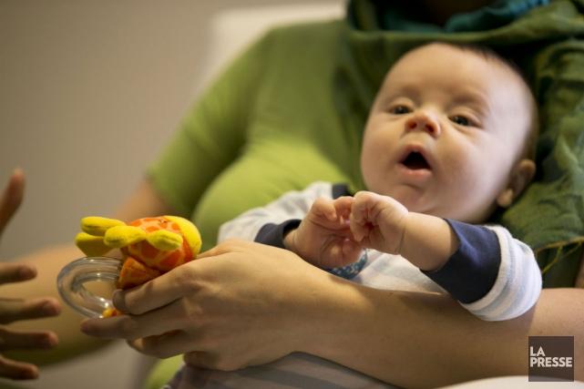 Il y a trois mois, le petit Hugo... (Photo Hugo-Sébastien Aubert, La Presse)