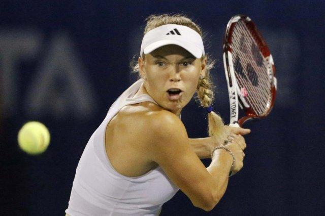 Caroline Wozniacki a attribué sa défaite à une... (PHOTO MOHAMMED SALEM, REUTERS)