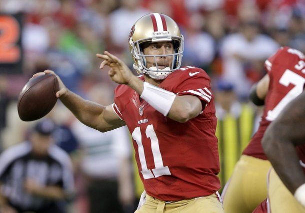 Alex Smith a perdu son poste de partant chez... (Photo Marcio Jose Sanchez, AP)