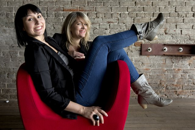 Annie Deschamps et Anne-Marie Dupras du duo Les... (Photo: Alain Roberge, La Presse)