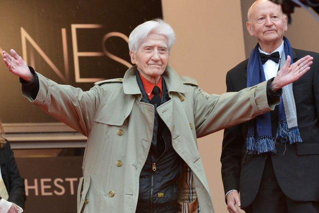 Le réalisateur Alain Resnais lors de la présentation... (Photo: archives AFP)