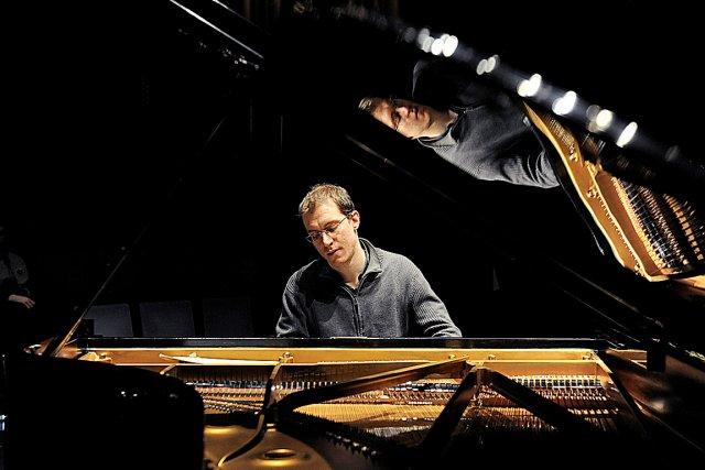 Le pianiste Gilles Vonsattel...