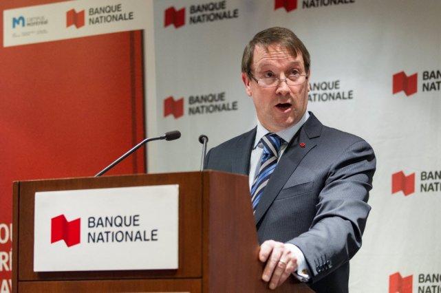 Le président de la Banque Nationale, LouisVachon....