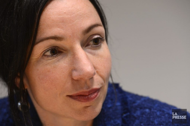 Martine Ouellet... (Photo Bernard Brault, La Presse)