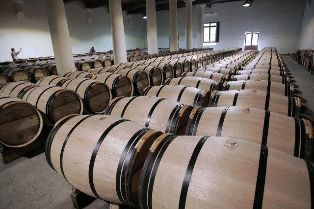De prestigieuses propriétés viticoles du Bordelais, profitant des bénéfices du... (PHOTO CAROLINE BLUMBERG, ARCHIVES BLOOMBERG)