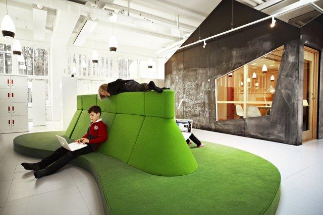 Rosan Bosch et son équipe ont créé des... (Photo : Kim Wendt, fournie par Telefonplan)