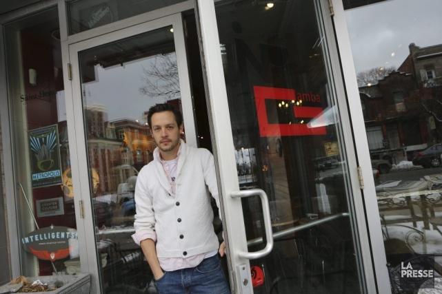 Jean-François Leduc, le propriétaire duCaffè in Gamba.... (PHOTO MARTIN CHAMBERLAND, LA PRESSE)