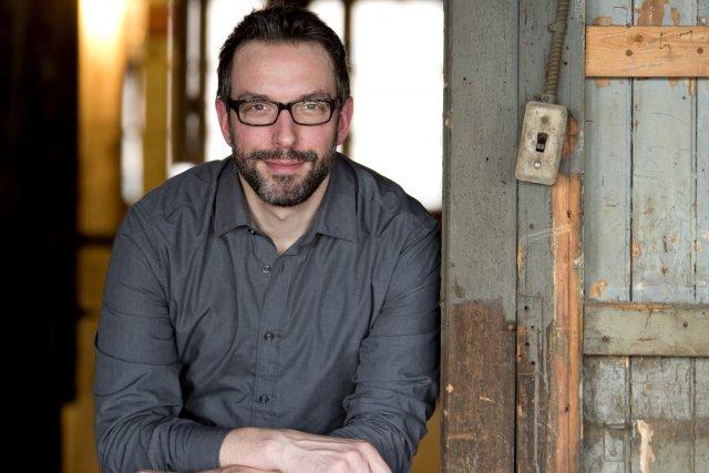 L'auteur Jean-Simon DesRochers... (Photo: Alain Roberge, La Presse)