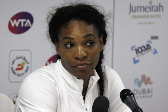 Serena Williams... (Photo Jumana El Heloueh, Reuters)