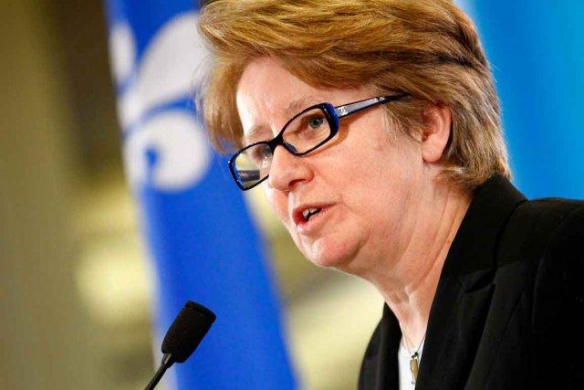 La ministre de l'Emploi, Agnès Maltais, ne peut... (Photothèque Le Soleil, Yan Doublet)