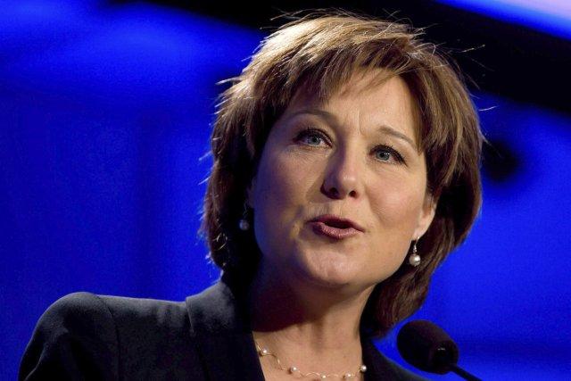 La première ministre de la Colombie-Britannique, Christy ... (Photo Darryl Dyck, La Presse Canadienne)