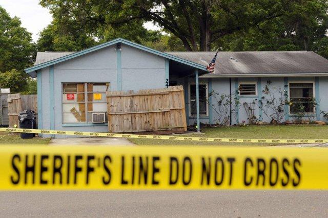 Un habitant de Floride a trouvé la mort... (Photo : Brian Blanco, Reuters)