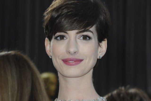 Anne Hathaway... (Photo Valerie Macon, Agence France-Presse)
