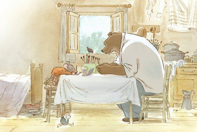 Lauréat du César du meilleur film d'animation la semaine dernière, Ernest... (Image fournie par Métropole Films)