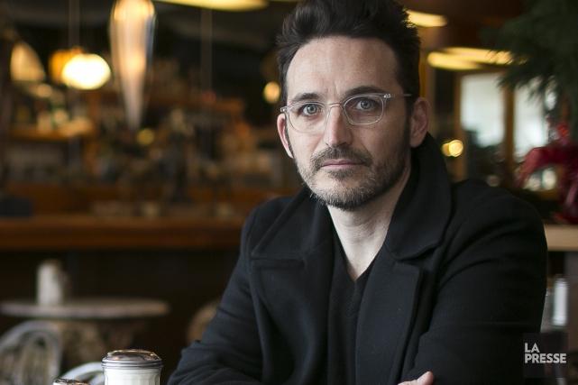 François Delisle a tourné son film pendant deux... (Photo Olivier Pontbriand, La Presse)