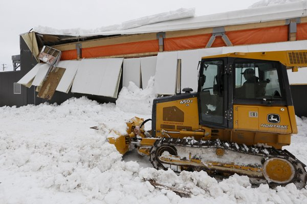 Une section du revêtement extérieur du Centre Meredith... (SIMON SÉGUIN-BERTRAND, LeDroit)