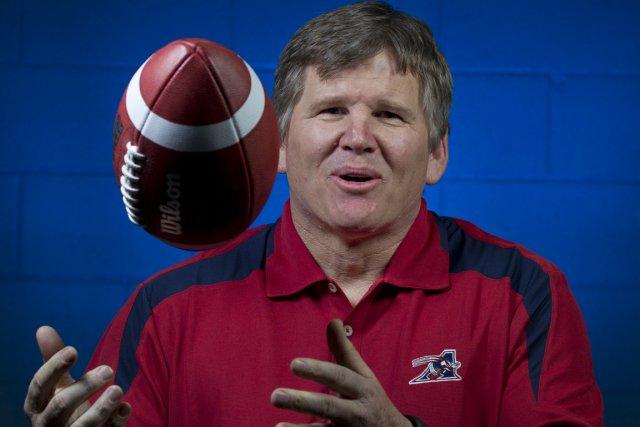 Le nouvel entraîneur-chef des Alouettes, Dan Hawkins.... (Photo : Olivier Jean, La Presse)