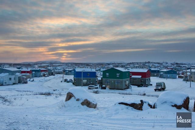 Le village de Kuujjuaq, où s'est déroulé le... (Photo Hugo-Sébastien Aubert, archives La Presse)