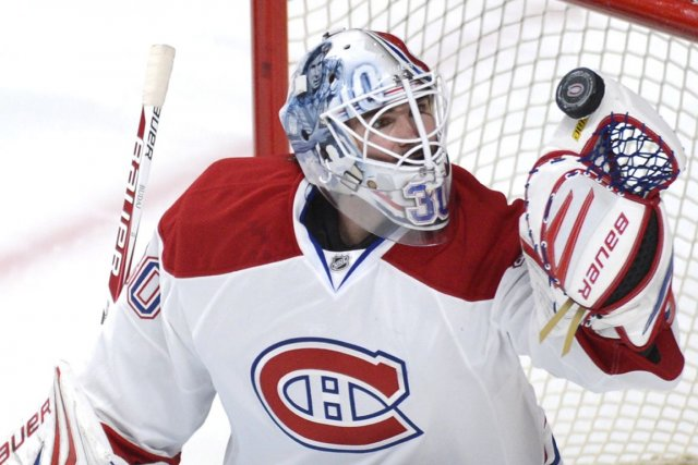Peter Budaj sera le seul changement à la... (PHOTO BERNARD BRAULT, LA PRESSE)