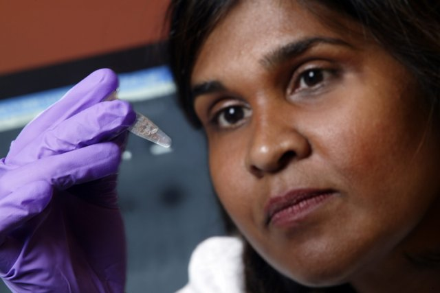 Le Dr Deborah Persaud, une virologue du Centre... (Photo: AP)