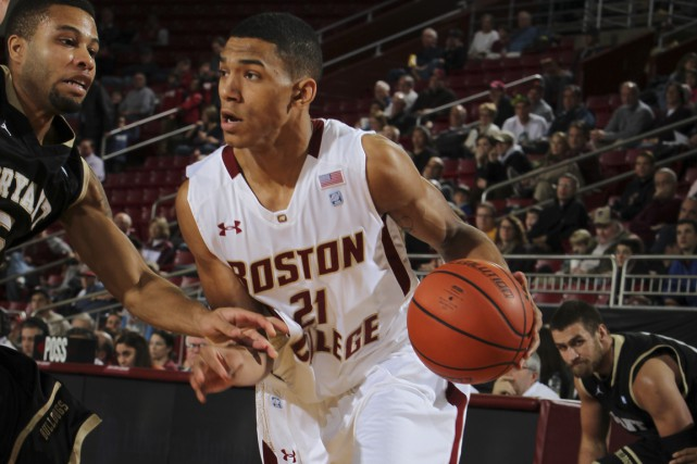 Le garde  québécois Olivier Hanlan est l'un... (Photo Boston College)