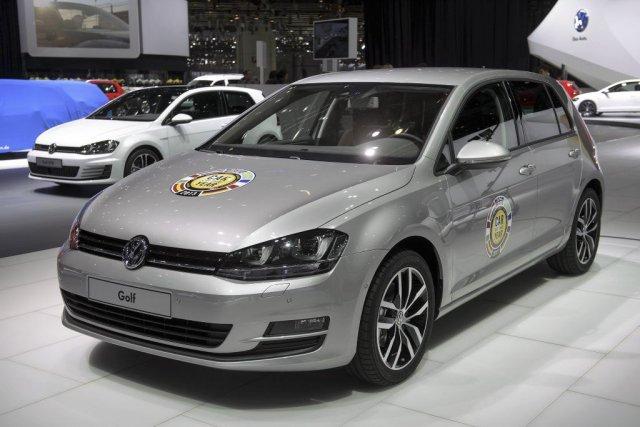 La Volkswagen Golf de septième génération a été... (Photo AFP)