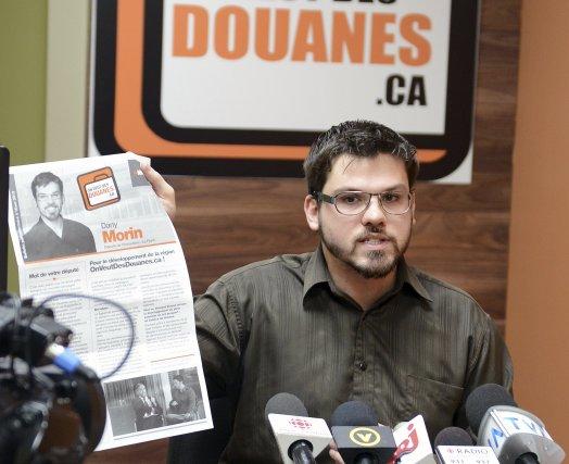 Dany Morin, député néodémocrate de Chicoutimi-Le Fjord... (Photo Jeannot Lévesque)