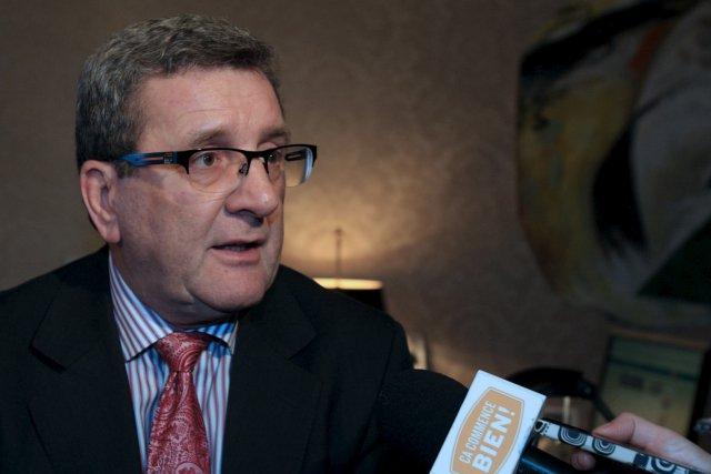 Le maire Régis Labeaume est plus impatient que... (Le Soleil, Pascal Ratthé)