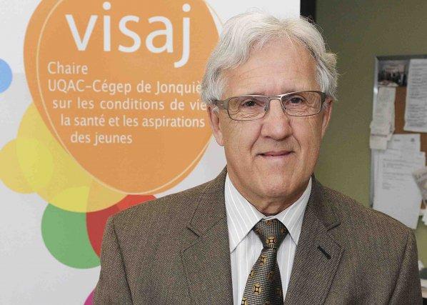 Le sociologue Michel Perron est le récipiendaire de... (Photo Mariane L. St-Gelais)