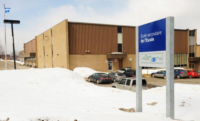 L'école L'Escale d'Asbestos.... (Archives La Tribune)