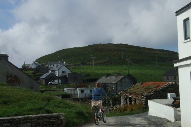 Un paysage irlandais.... (Photo: Andrée Lebel, La Presse)
