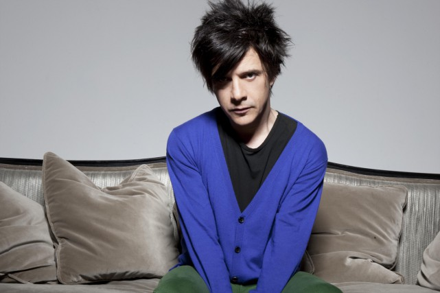 Nicola Sirkis, chanteur d'Indochine.... (Photo: fournie par Tandem.mu)