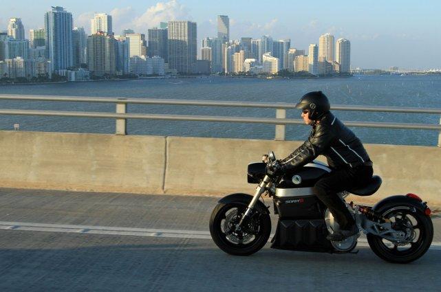 La Lito Sora, moto 100% électrique québécoise, a... (Photo fournie par Lito Green Motion)