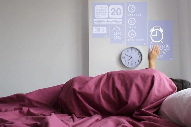 «Le projet est un prototype d'une maison intelligente»,... (Photo AFP)