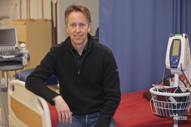 Le chercheur Christian Duval, de l'Institut de gériatrie... (Photo Olivier Pontbriand, La Presse)