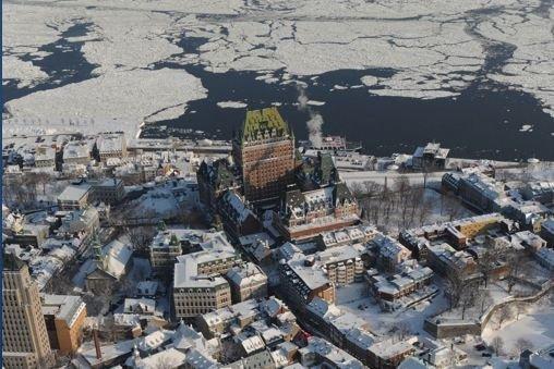 Québec vue du ciel... (Photothèque Le Soleil, Steve Deschênes)