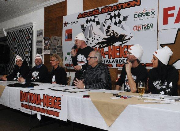 L'organisation du Daytona Neige, qui aura lieu le... (Photo Mariane L. Saint-Gelais)