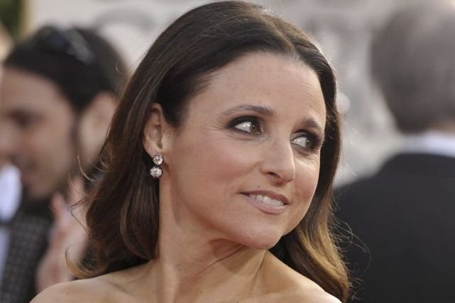Julia Louis-Dreyfus aux derniers Golden Globes.... (Photo: La Presse Canadienne)