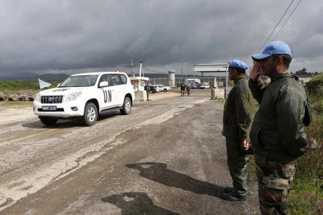 Des combattants liés à l'opposition syrienne ont enlevé mercredi une vingtaine... (Photo: Reuters)