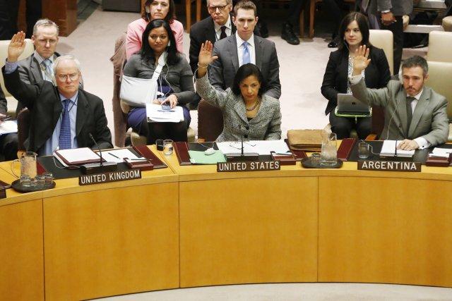 La résolution du Conseil, proposée par plusieurs pays... (PHOTO BRENDAN MECDERMID, REUTERS)
