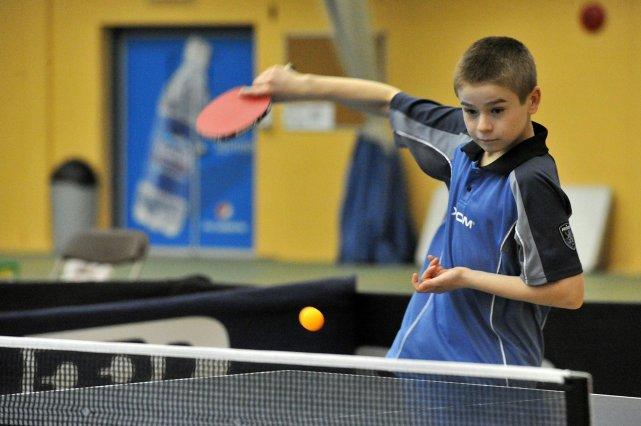 Le jeune Luc Sicard a pris la deuxième... (Photo: Stéphane Lessard)