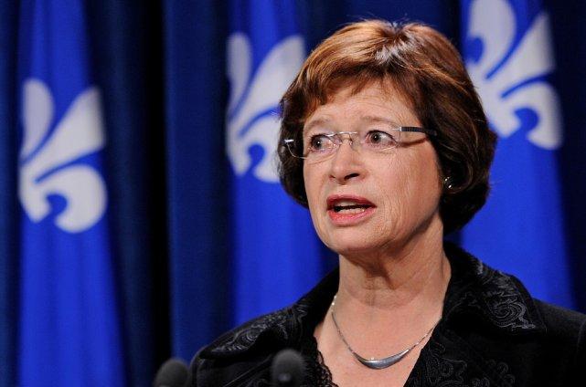 La ministre Marie Malavoy a jugé que cette... (Le Soleil, Patrice Laroche)