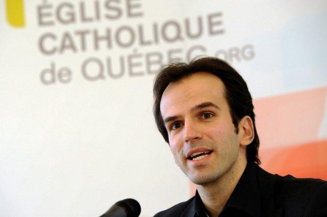 Le directeur des communications de l'Église catholique de... (Le Soleil, Patrice Laroche)