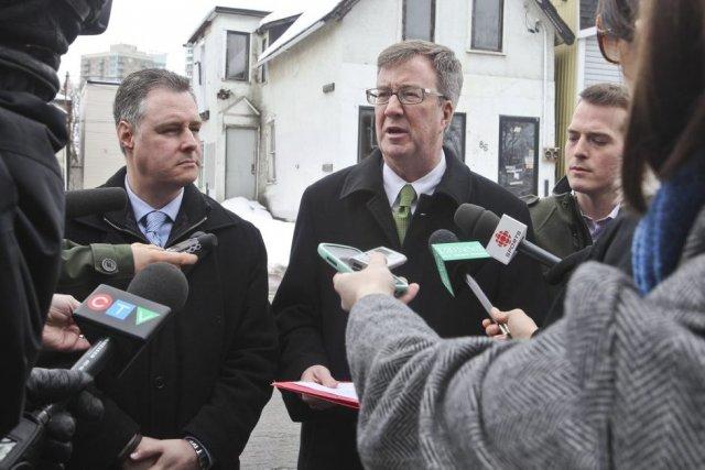 Le maire Jim Watson a haussé le ton... (Patrick Woodbury, LeDroit)