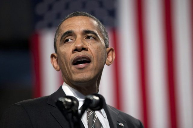 La main tendue par Obama contraste vivement avec... (PHOTO EVAN VUCCI, AP)