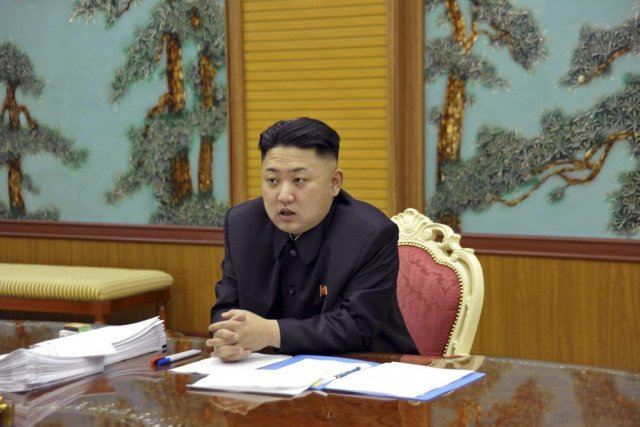 Kim Jong Un... (Photo Associated Press)