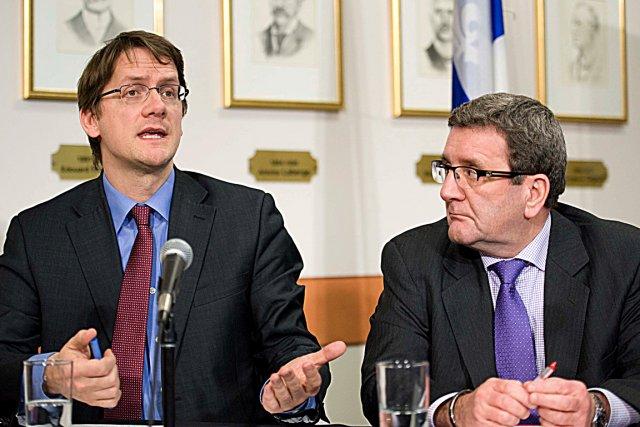 À la suite de l'annonce du ministre Sylvain... (Le Soleil, Steve Deschênes)