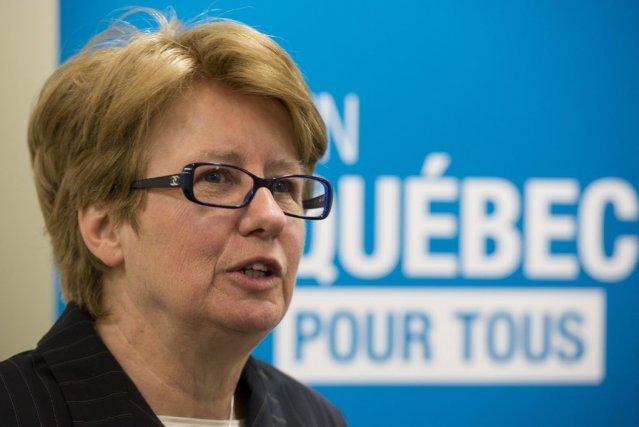 Jeudi, la ministre de l'Emploi et de la... (PHOTO JACQUES BOISSINOT, PC)