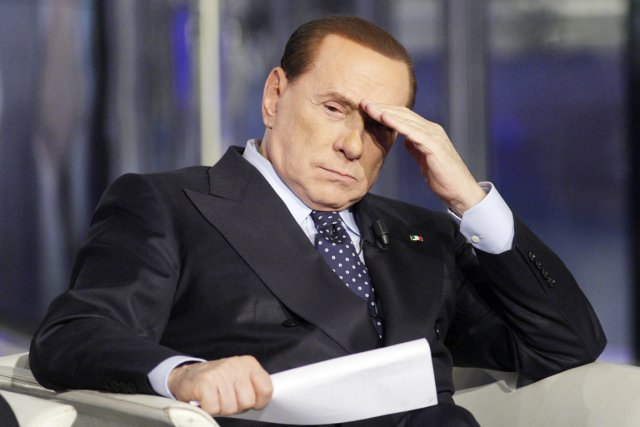 L'ex-premier ministre italien Silvio Berlusconi.... (PHOTO REMO CASILLI, ARCHIVES REUTERS)